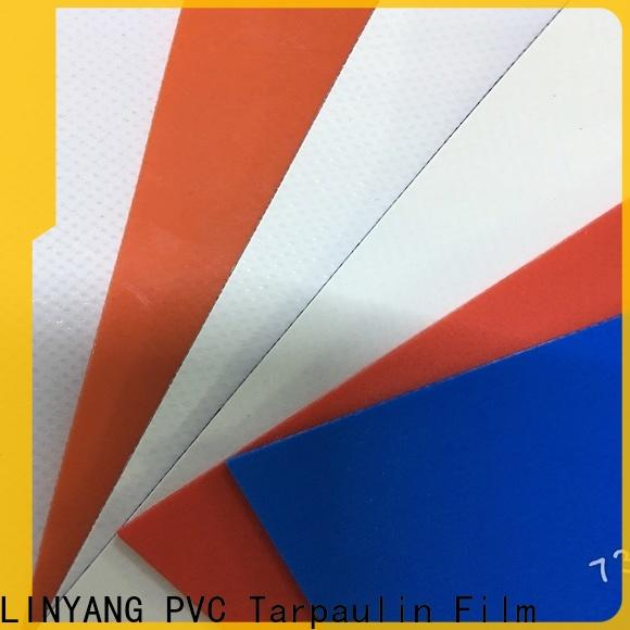 LINYANG pvc coated fabric factory for sale