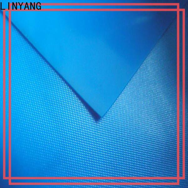 LINYANG anti-UV pvc film roll design for bathroom