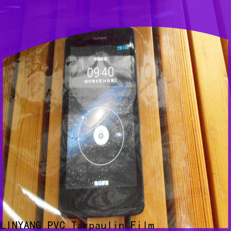 transparent Transparent PVC Film antifouling factory for industry