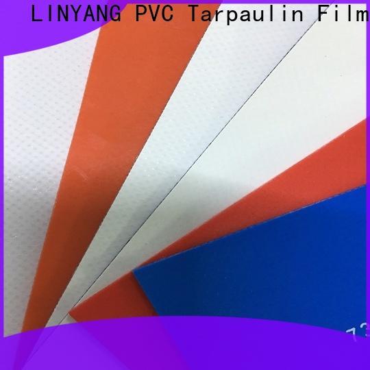 LINYANG heavy duty PVC Tarpaulin fabric factory for outdoor
