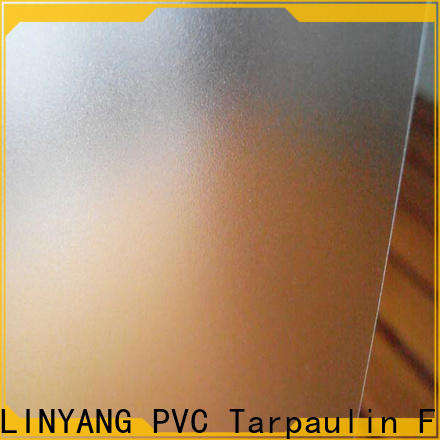 LINYANG translucent pvc film eco friendly from China for umbrella