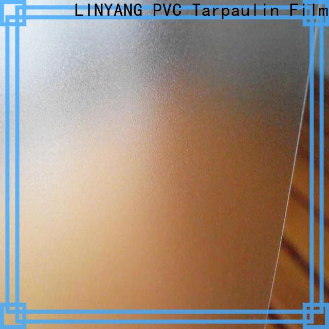 LINYANG film Translucent PVC Film personalized for raincoat