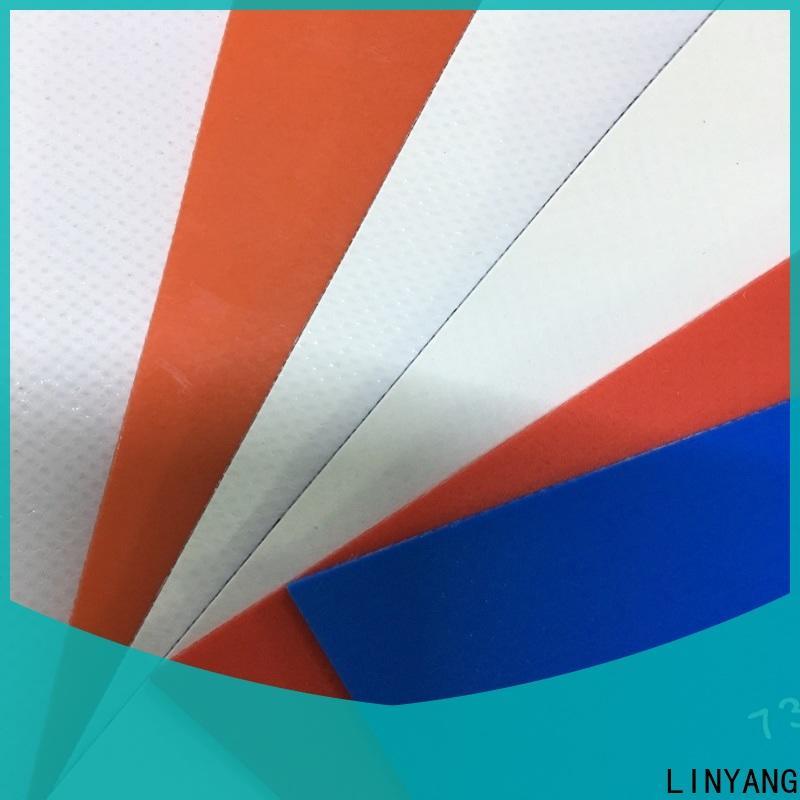 flame-retardant tarpaulin film tensile factory price for agriculture tarps