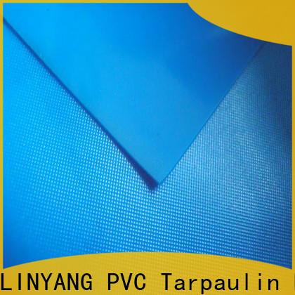 LINYANG normal pvc plastic sheet roll series for raincoat
