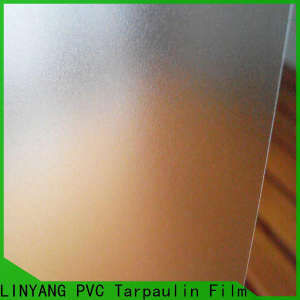LINYANG pvc Translucent PVC Film from China for raincoat