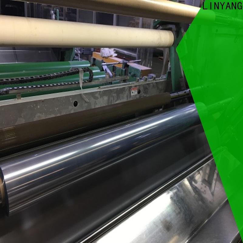 LINYANG clear pvc film supplier