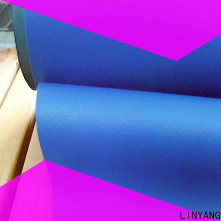 LINYANG antifouling Decorative PVC Filmfurniture film supplier for handbags