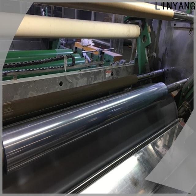 LINYANG clear plastic film manufacturer