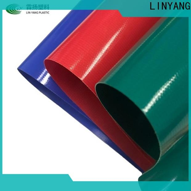 LINYANG tarpaulin from China for indoor