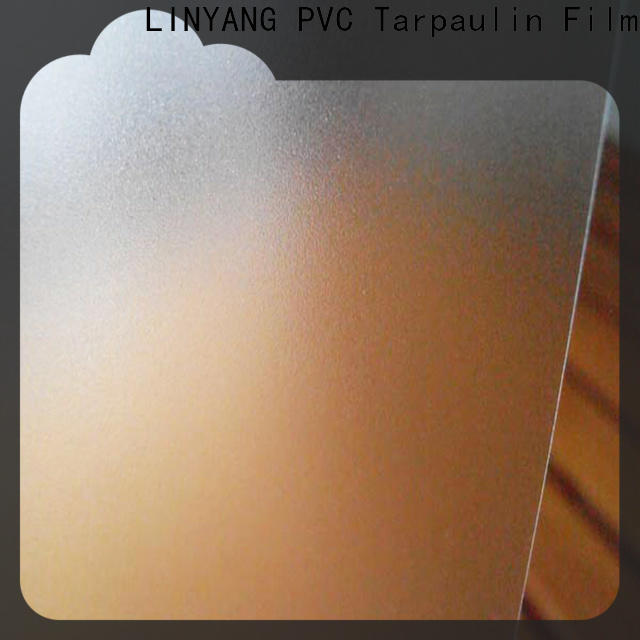 translucent pvc film eco friendly waterproof directly sale for umbrella