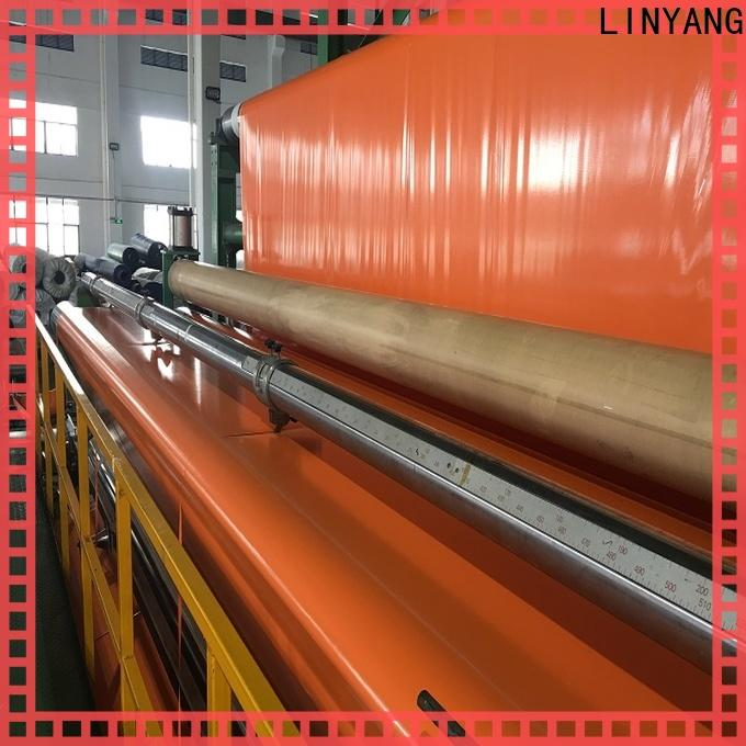 LINYANG cheap pvc coated tarpaulin supplier