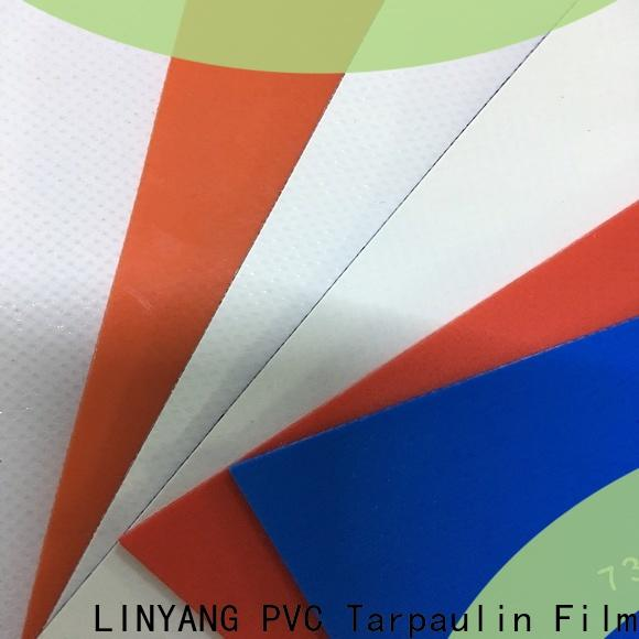 LINYANG pvc heavy duty tarpaulin factory price for agriculture tarps