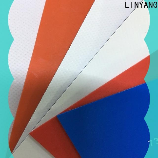 LINYANG the newest pvc tarpaulin factory for truck cover