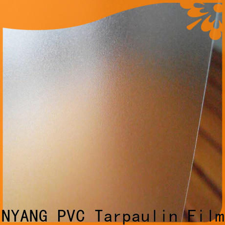 LINYANG translucent pvc film eco friendly directly sale for umbrella