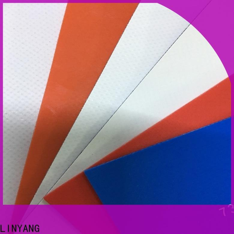 LINYANG high quality pvc coated fabric manufacturer for sale