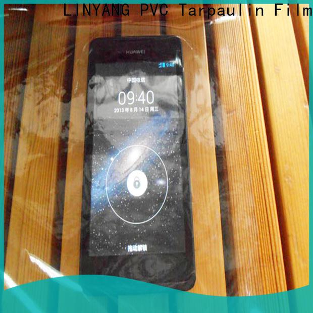 LINYANG pvc Transparent PVC Film wholesale for agriculture