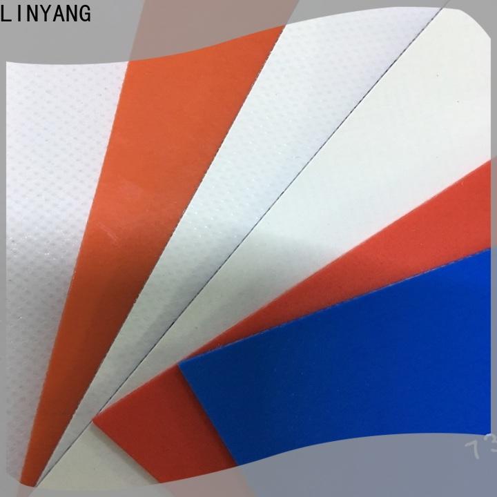 LINYANG mildew resistant heavy duty tarpaulin design for tent tarps
