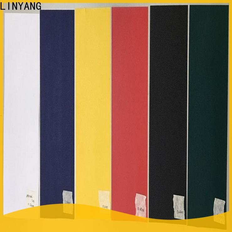LINYANG pvc film inquire now for handbags