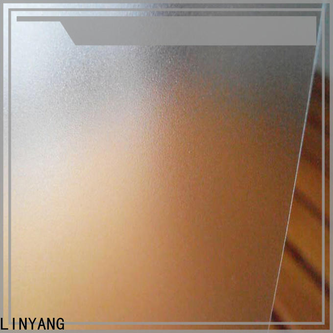 LINYANG waterproof pvc film eco friendly from China for shower curtain