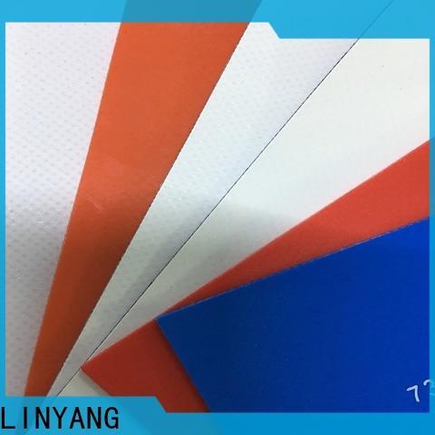 LINYANG best pvc tarpaulin design for agriculture tarps
