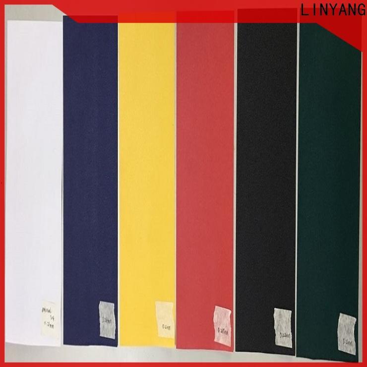 LINYANG hot selling pvc film manufacturer for umbrella