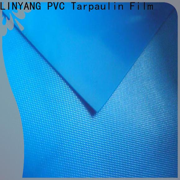 anti-UV pvc plastic sheet roll normal series for raincoat