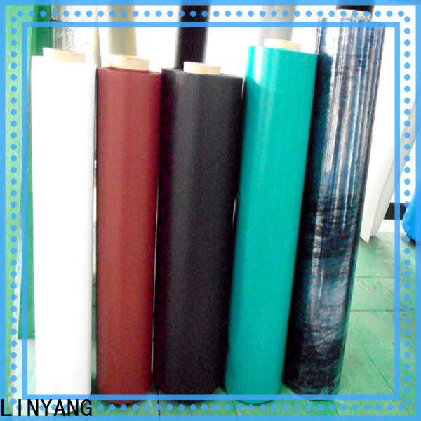 LINYANG finely ground Inflatable Toys PVC Film with good price for swim ring