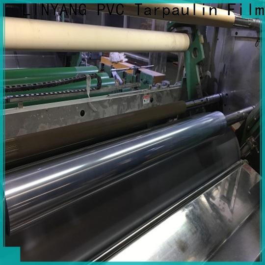 hot sale clear plastic film manufacturer