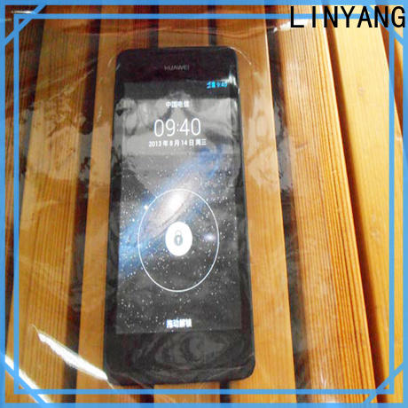 LINYANG film Transparent PVC Film wholesale for handbags membrane