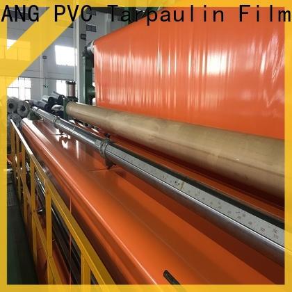 LINYANG pvc coated tarpaulin factory