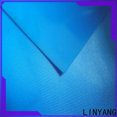LINYANG waterproof pvc plastic sheet roll factory price for household