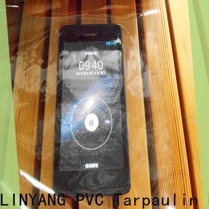 waterproof Transparent PVC Film antifouling with good price for handbags membrane