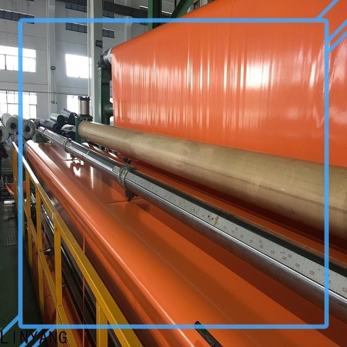 LINYANG pvc coated tarpaulin wholesale