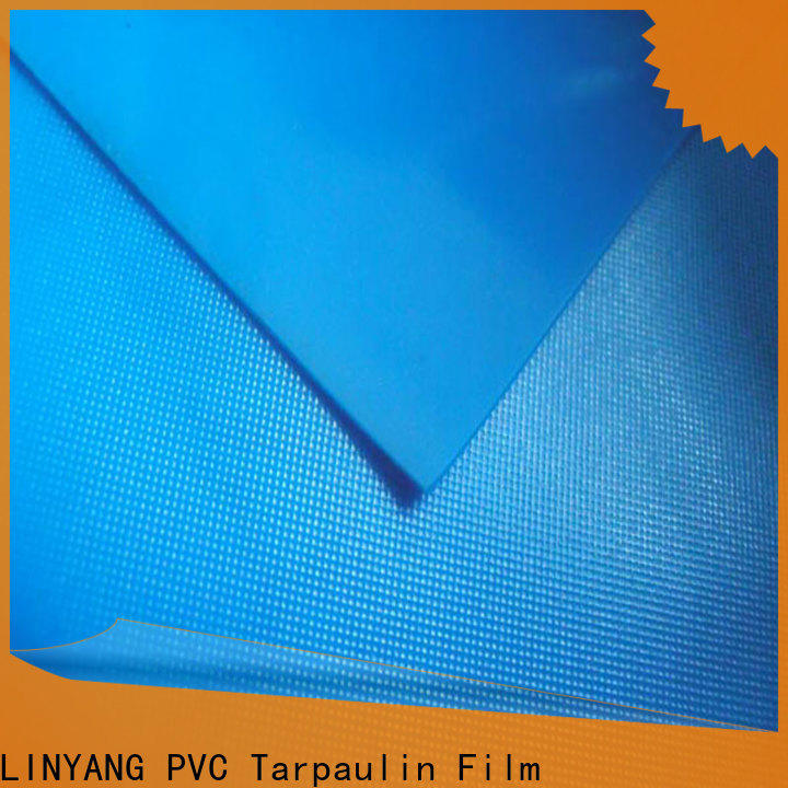 LINYANG widely used pvc plastic sheet roll design for household