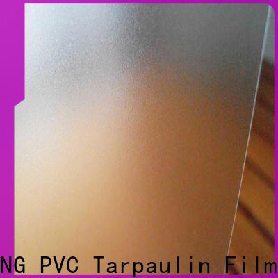 durable Translucent PVC Film film from China for umbrella