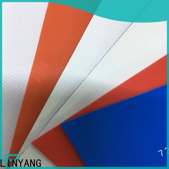 LINYANG best heavy duty tarpaulin design for geotextile