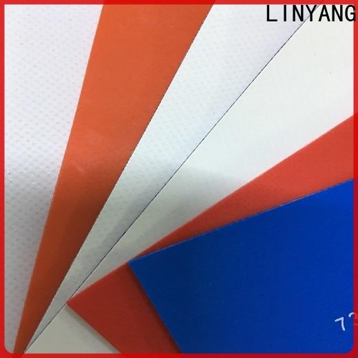 high quality PVC Tarpaulin fabric manufacturer for sale