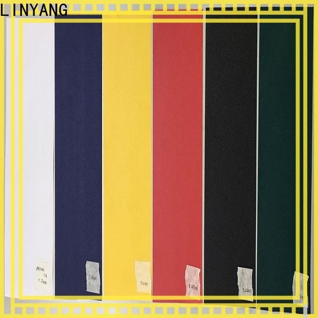 LINYANG pvc film manufacturer for handbags