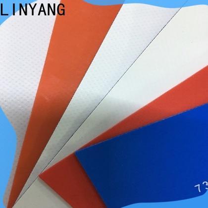 LINYANG mildew resistant waterproof tarpaulin design for advertising banner