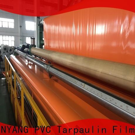 LINYANG new pvc coated tarpaulin factory