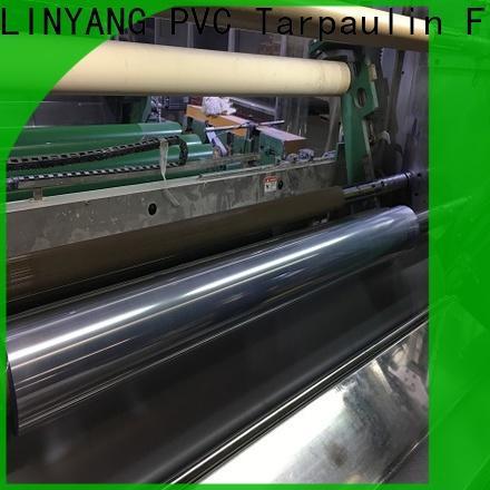 LINYANG cheap clear pvc film manufacturer