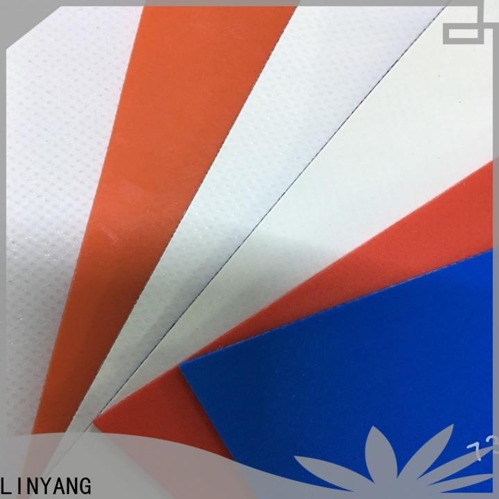 LINYANG pvc tarpaulin manufacturer for sale