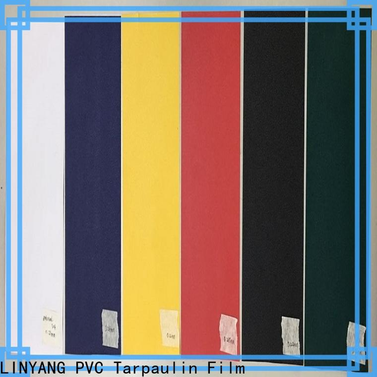 LINYANG high quality pvc film one-stop services