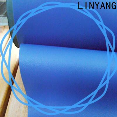 LINYANG semi-rigid self adhesive film for furniture supplier for handbags