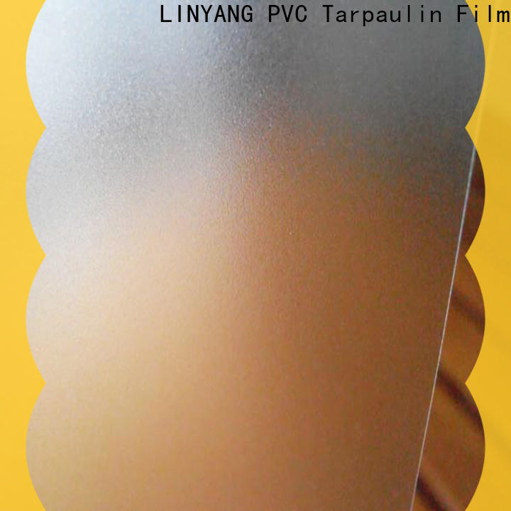 LINYANG antifouling pvc film eco friendly personalized for raincoat