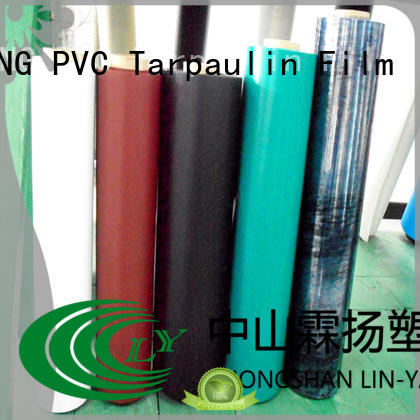 LIN-YANG Brand low cost best price pvc plastic film