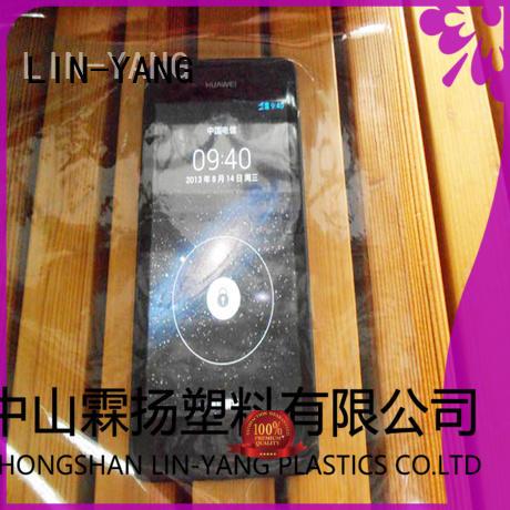 Hot pvc transparent film waterproof LIN-YANG Brand