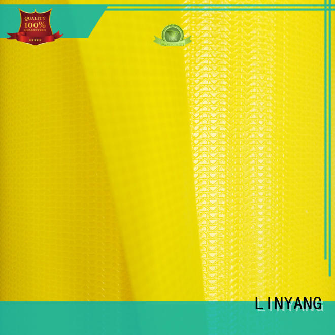 LINYANG PVC Tarpaulin fabric supplier for sale
