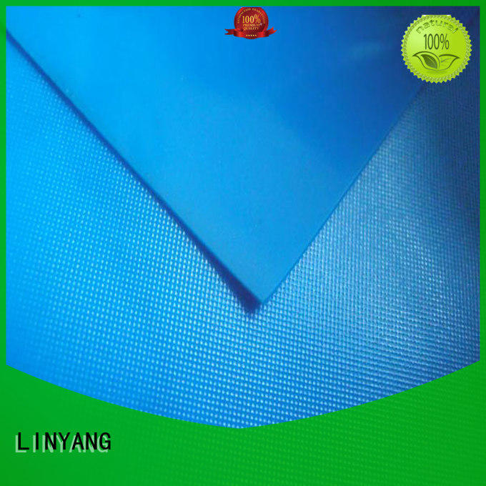 LINYANG variety pvc film roll design for household