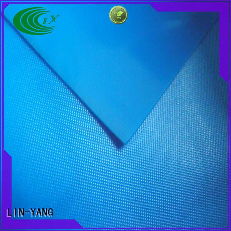 variety antifouling Hot pvc film price packaging LIN-YANG Brand rich